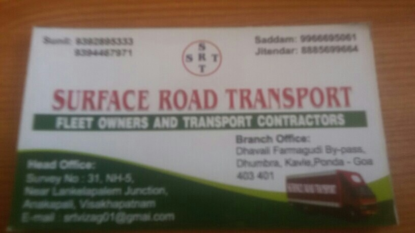 Surface Road Transport