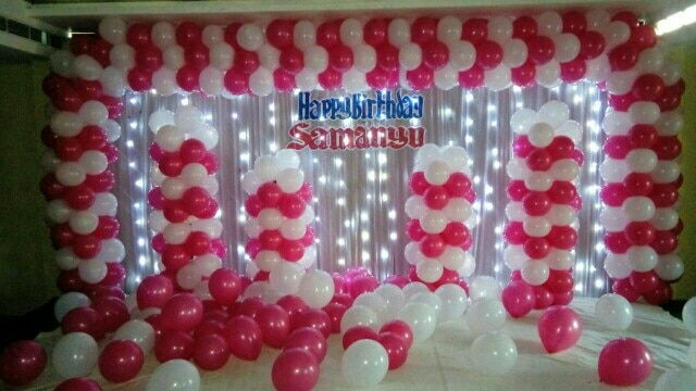 Balloon Decoration in Vizag in Visakhapatnam Indian Balloons are