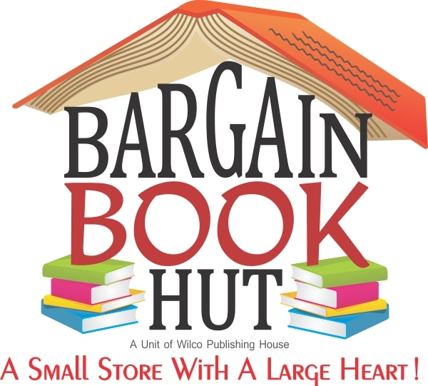 Bargain Book Hut - logo