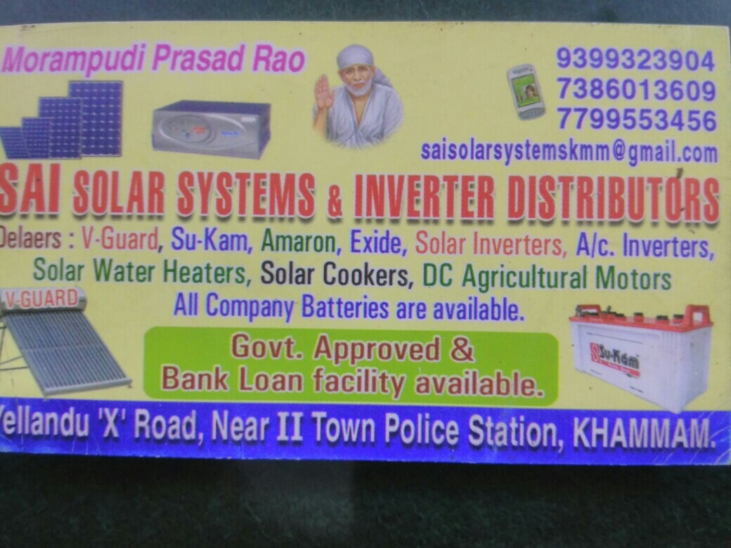 Sai Solar Systems And Inv