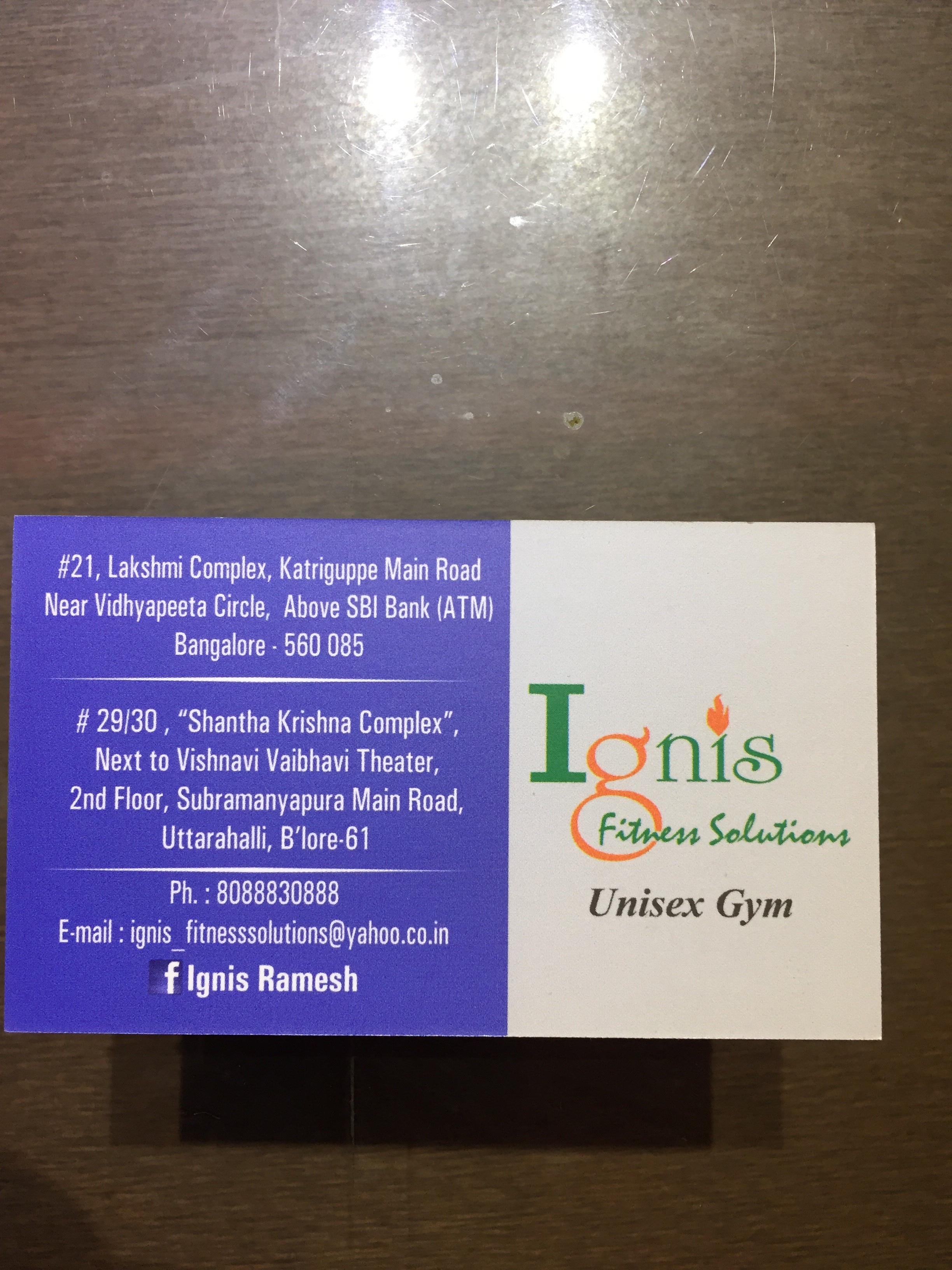 Ignis Fitness Solutions