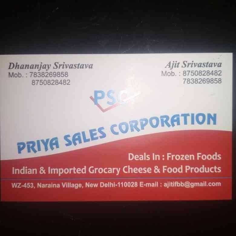 Priya Sales Corporation