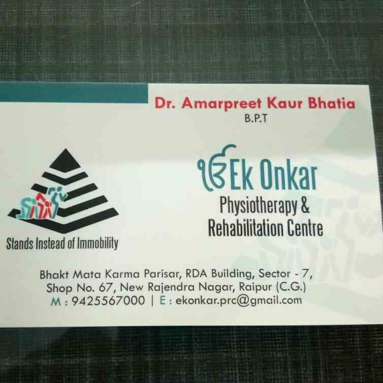 Ek Onkar Physiotherapy &