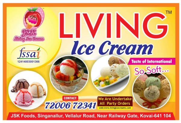 Living Ice Creams logo