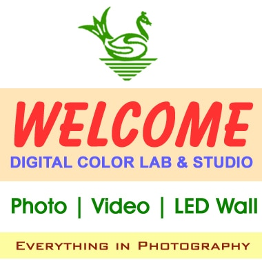 Welcome digital Color Lab & Studio logo